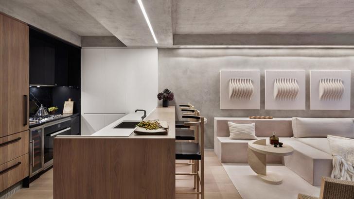 Оттенки ванили: квартира 64 м² в Нью-Йорке (фото 2)