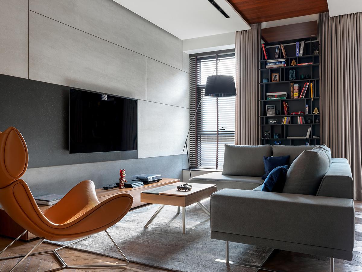Телевизор в интерьере: 25 примеров оформления (галерея 0, фото 18)