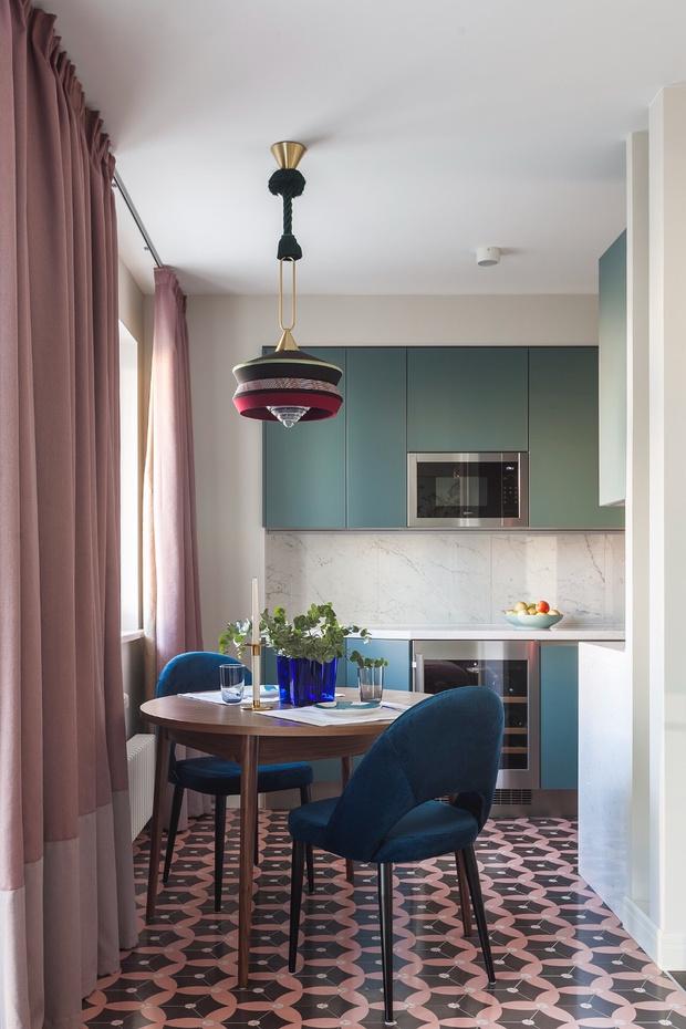 Маленькая кухня-столовая: 12 практичных советов (фото 29)