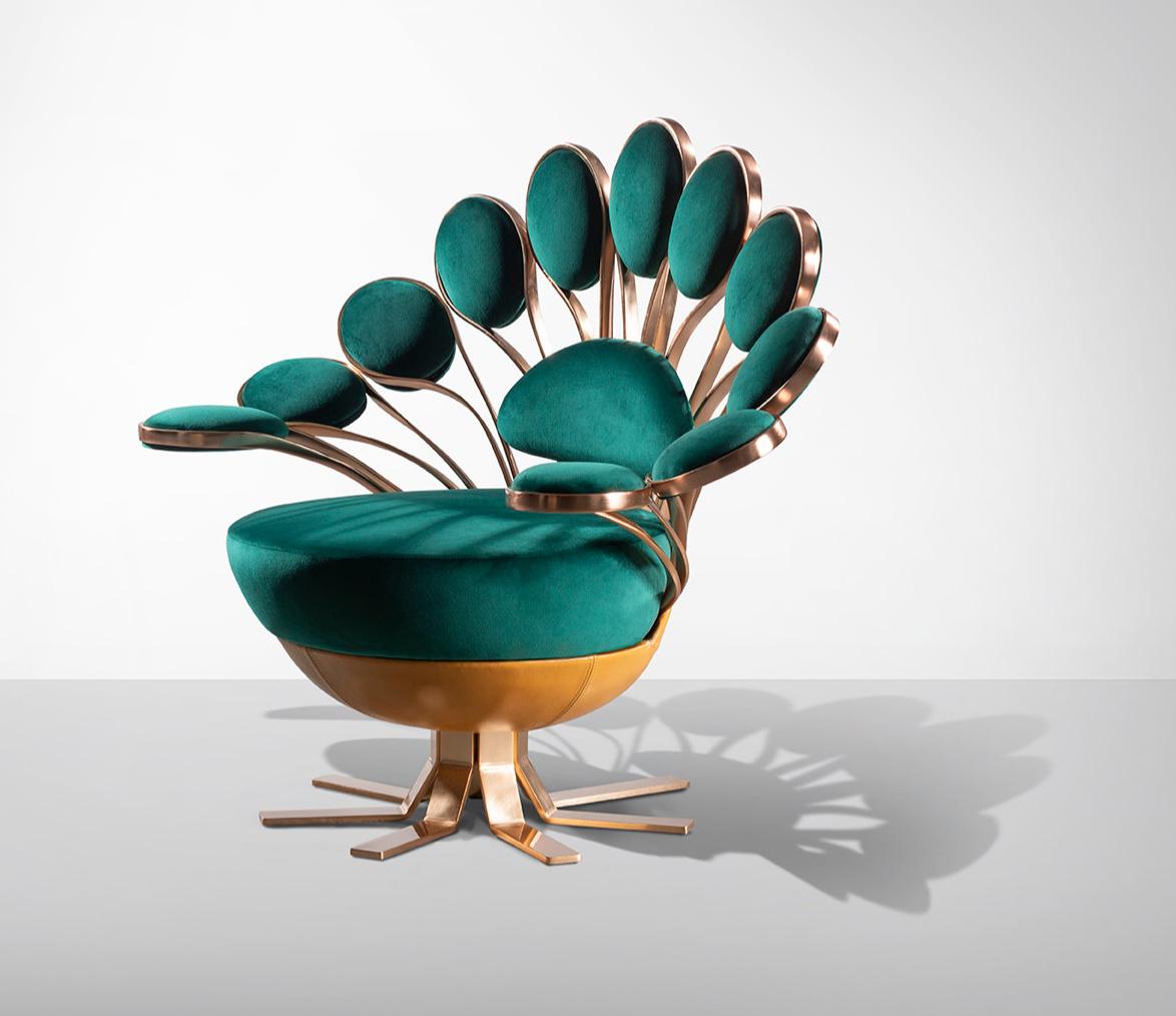 """Кресло """"Павлин"""" от Visionnaire (галерея 2, фото 3)"""