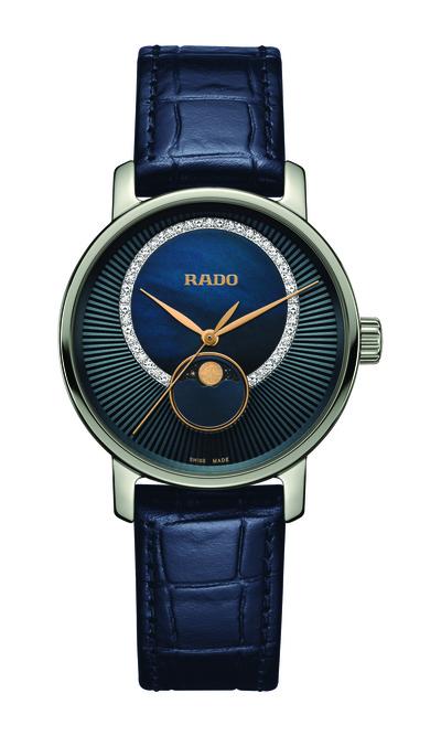 Женственный минимализм: новые часы Rado DiaMaster (галерея 4, фото 1)