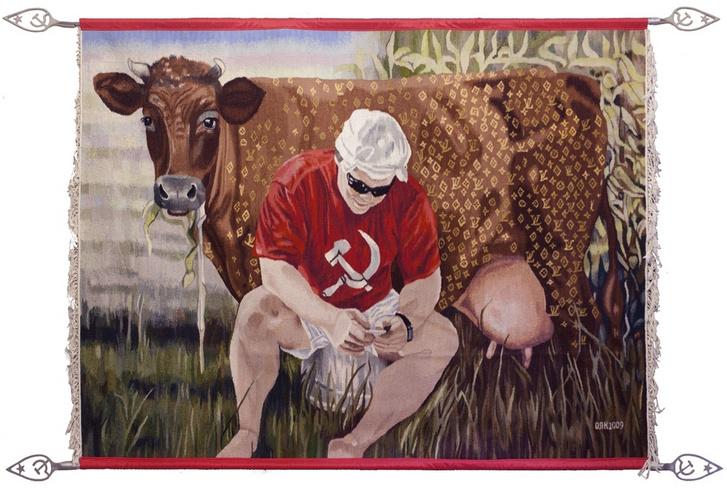 Украинские килимы и пикачу: художник Оксана Левченя (фото 11)