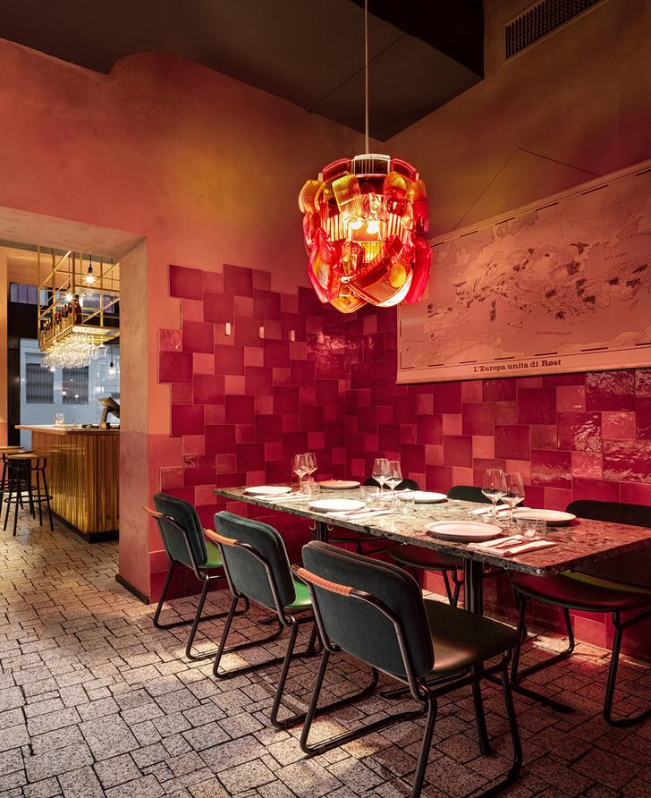 Ресторан Røst в Милане с домашней атмосферой (фото 2)