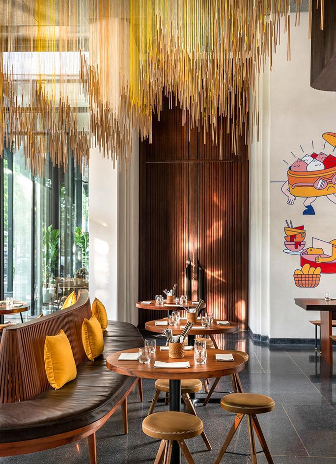 Treeline Urban Resort: новый дизайнерский отель в Камбоджи (фото 4)