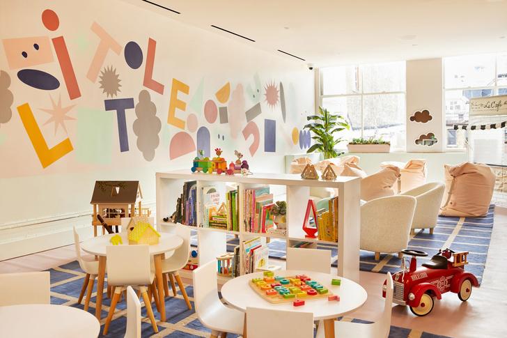 Детская комната в коворкинге The Wing (фото 6)