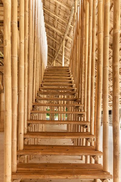 В Таиланде построили спортзал из бамбука | галерея [1] фото [7]