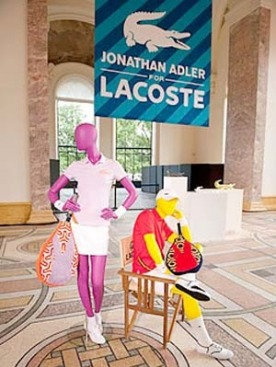 Коллекция Джонатана Адлера для Lacoste