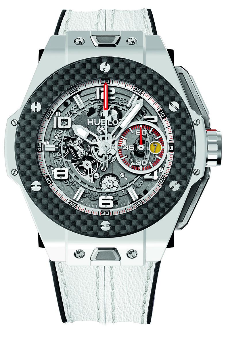 Часы Big Bang Ferrari White Ceramic Carbon, Hublot, бутик Hublot.