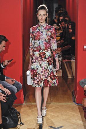 Показ Andrea Incontri коллекции сезона Весна-лето 2013 года prêt-à-porter - www.elle.ru - Подиум - фото 436585