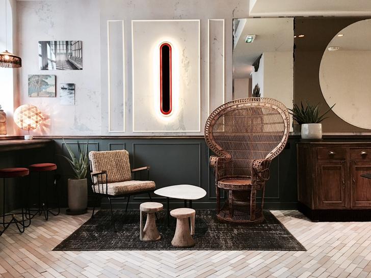 Отель в Париже в стиле ар-деко (фото 0)