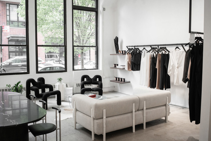 Шоу-рум Lunya как квартира в Бруклине (фото 7)