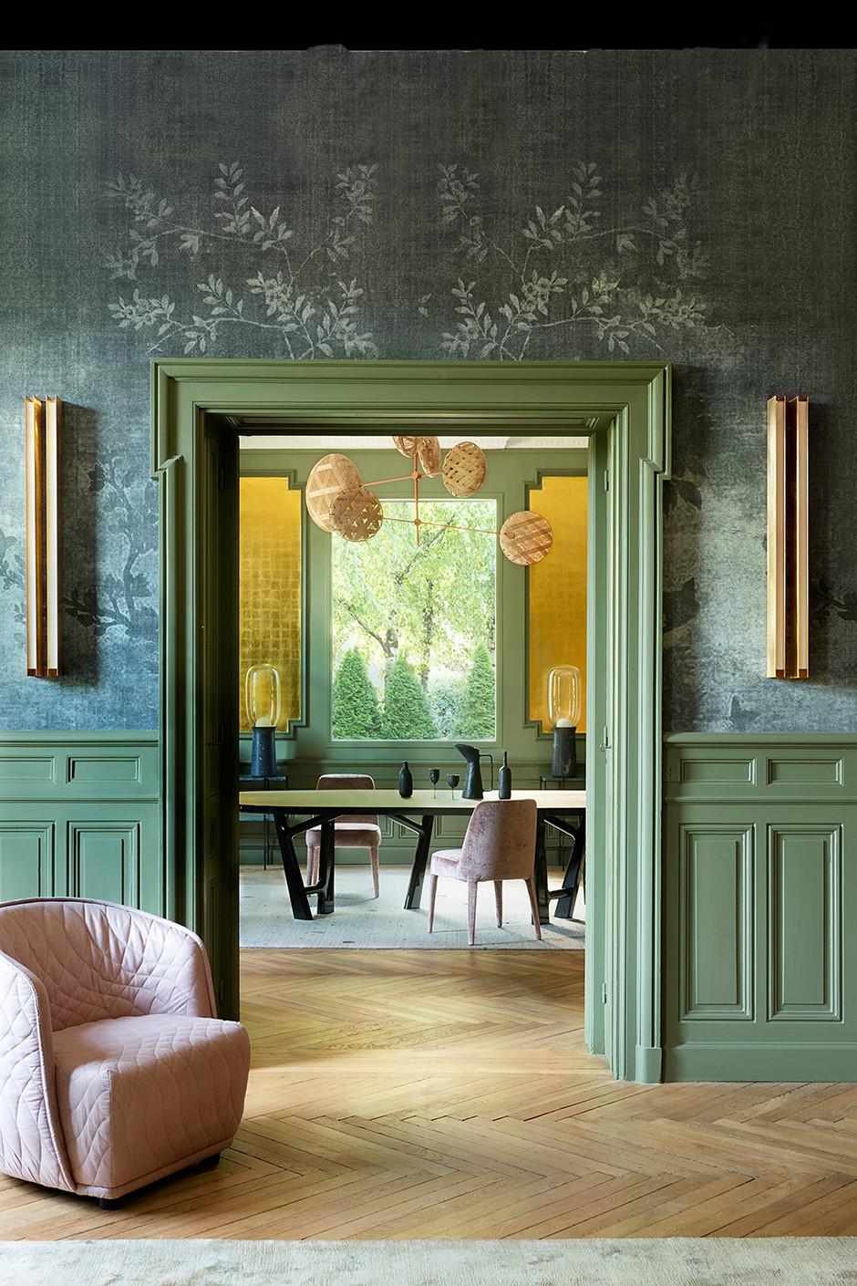 25 интерьеров зеленого цвета (галерея 0, фото 4)