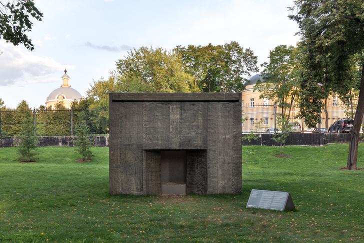 В Парке Горького появился павильон тишины (фото 0)