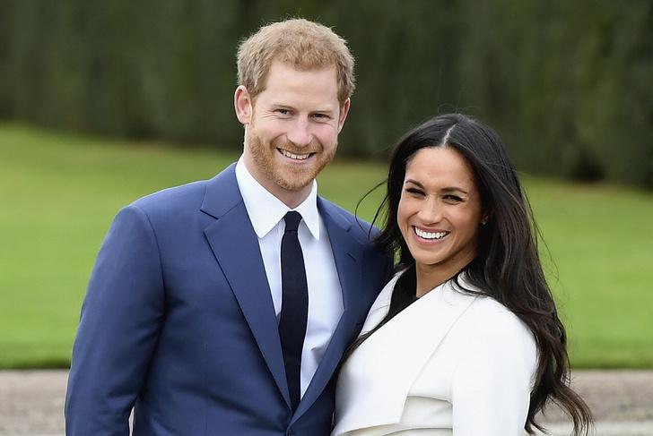 Принц Гарри и Меган Маркл фото помолвка