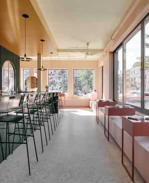 Яркий проект Pastel Rita в Монреале от студии Appareil Architecture (фото 2.2)