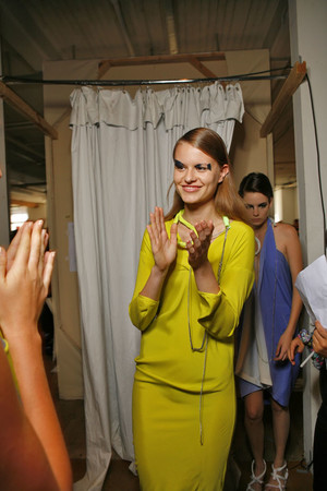 Показ Zero + Maria Cornejo коллекции сезона Весна-лето 2009 года prêt-à-porter - www.elle.ru - Подиум - фото 77012