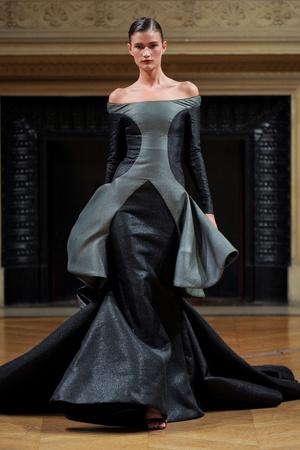 Показ Alexis Mabille коллекции сезона Осень-зима 2011-2012 года Haute couture - www.elle.ru - Подиум - фото 277054