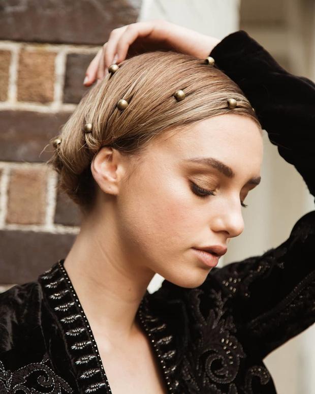 Микротренд: украшения для волос (фото 5)