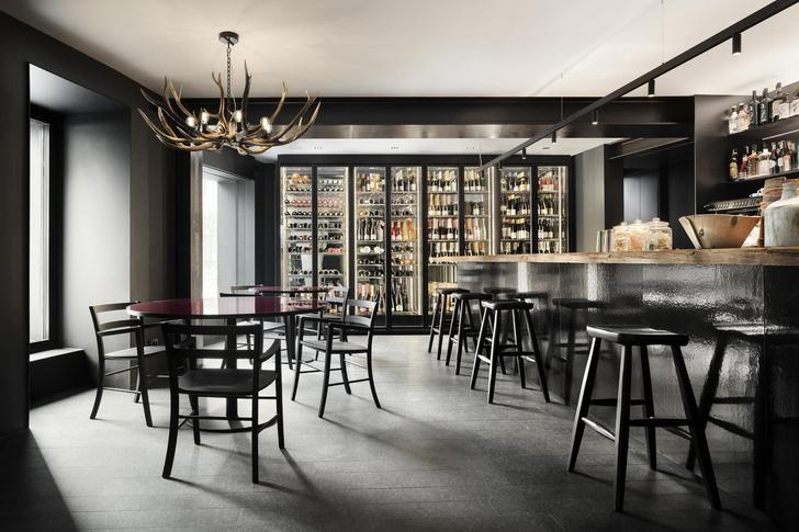 Винный бар-бистро 75 Café & Lounge — новый проект Пьеро Лиссони (фото 0)