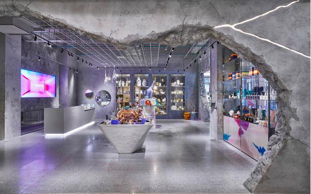 Индустриальный шик: дизан-бутик Shouter в Шанхае (фото 2)