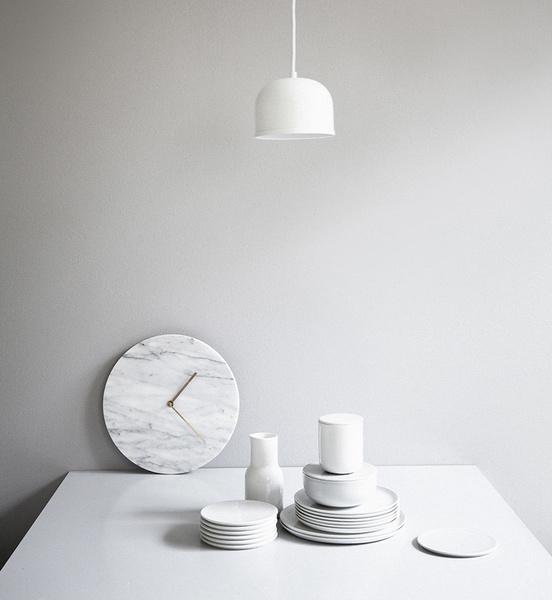 Marble Wall Clock Olsson Gerthel