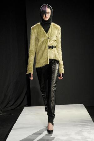 Показ Mandy Coon коллекции сезона Осень-зима 2011-2012 года prêt-à-porter - www.elle.ru - Подиум - фото 227472