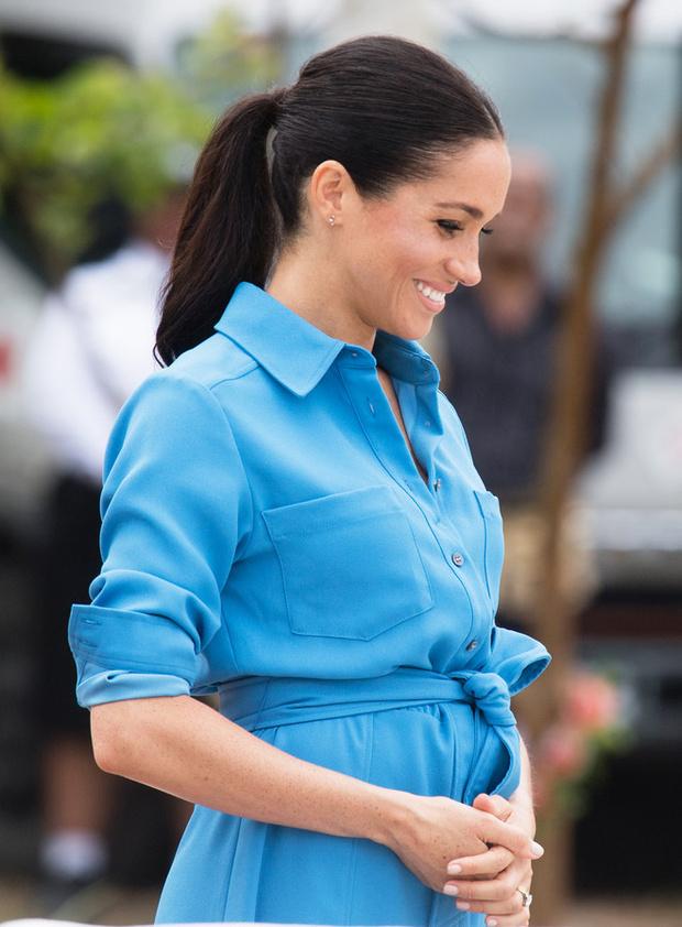 Научное объяснение: почему Меган Маркл, возможно, беременна близнецами? (фото 1)