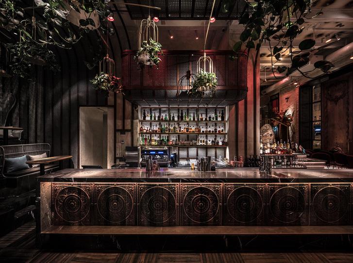 Вьетнамский ресторан в Киеве по проекту YOD Design Lab (фото 5)