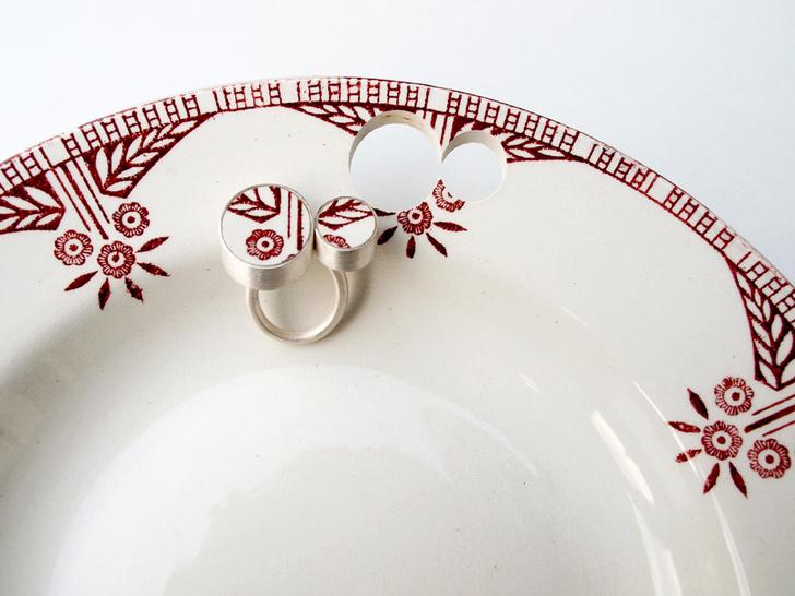 Пунктирная линия: керамические украшения Гезине Хакенберг (фото 3)