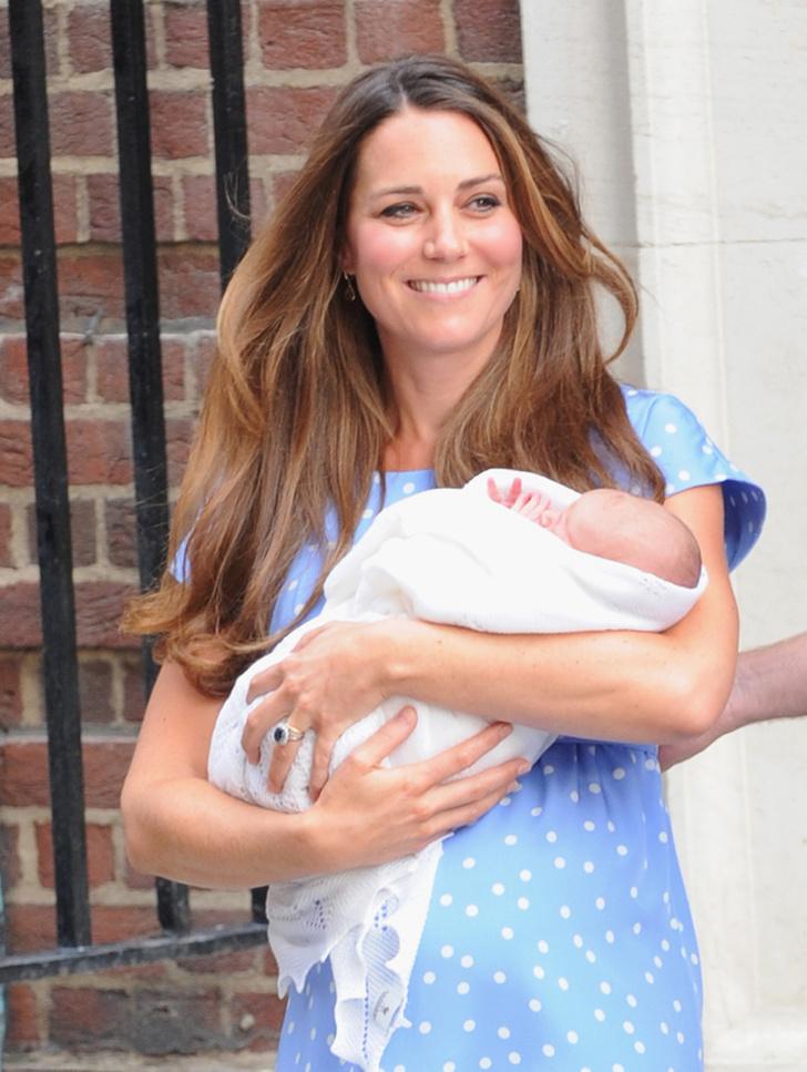 Кейт Миддлтон с сыном: фото