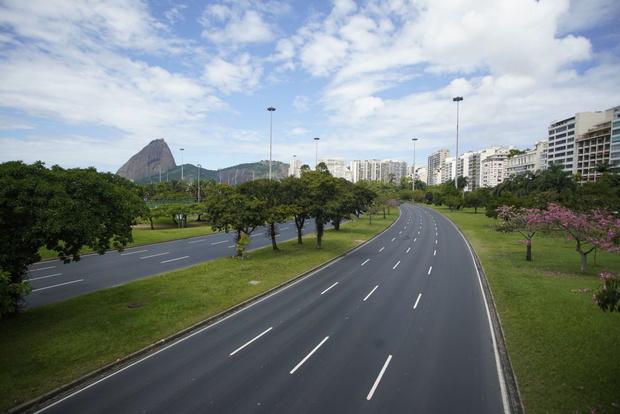 Как выглядит опустевший Рио-де-Жанейро (фото 12)