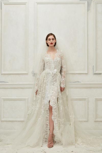 14 свадебных платьев невероятной красоты из новой коллекции Oscar de la Renta (галерея 2, фото 13)