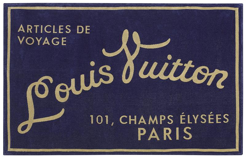 Пляжное полотенце Articles de Voyage, Louis Vuitton, бутики Louis Vuitton, 23 700 руб.
