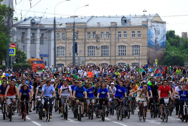Московский велопарад