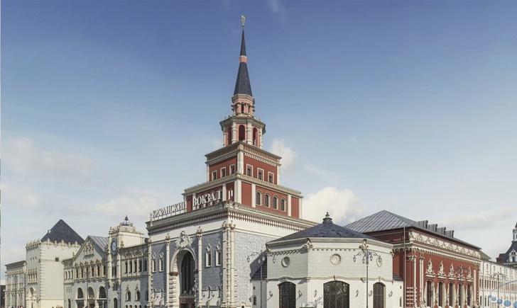 XVI Венецианская архитектурная биеннале на Казанском вокзале в Москве (фото 0)