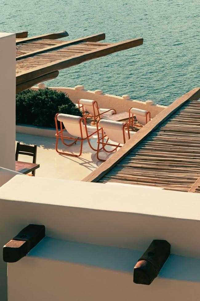 Охра и шафран: ресторан на Миконосе в ретро-гамме (галерея 8, фото 0)