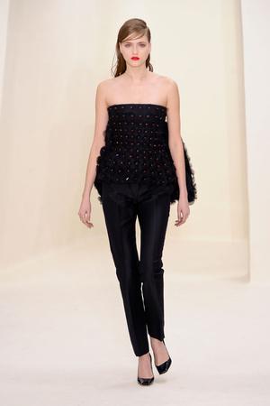 Показ Christian Dior коллекции сезона Весна-лето 2014 года Haute couture - www.elle.ru - Подиум - фото 574264