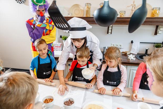 Кулинарные классы в кондитерской Kitchen