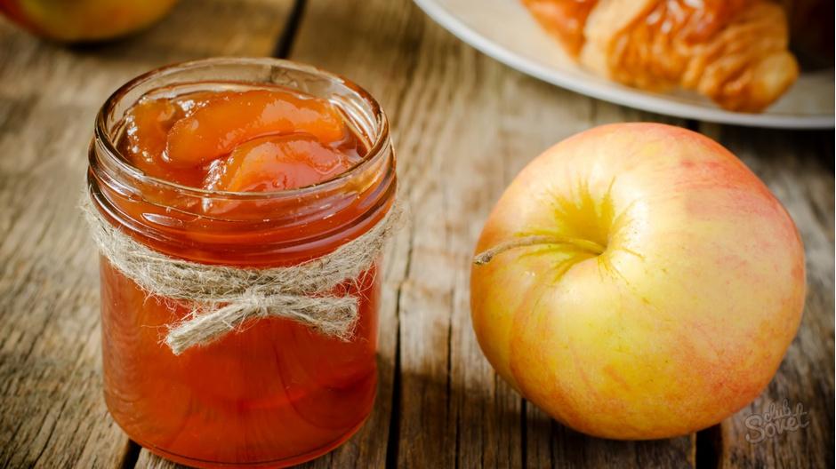 Варенье из яблок дольками прозрачное с корицей