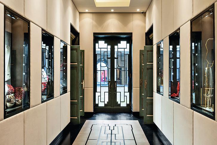 Открылся флагманский бутик Fendi Casa фото [8]