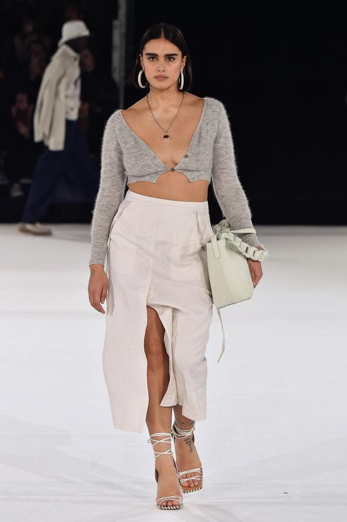 Тело как искусство: лучшие выходы curvy-модели Джилл Кортлев на Неделях моды (фото 9)