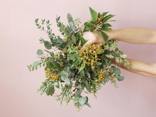 Мастер-класс: осенний букет из диких цветов (фото 19)