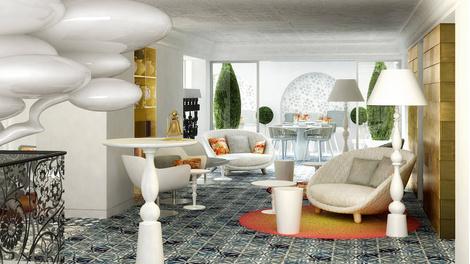 Марсель Вандерс оформил пятизвездочный отель на Майорке | галерея [1] фото [12]