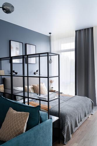 Квартира 38 м² для молодого заказчика: проект студии «1+1» (фото 6.1)