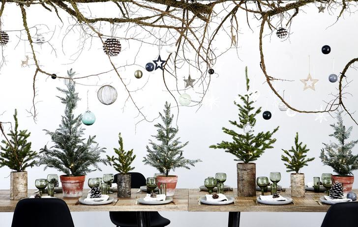 Сервировка новогоднего стола 2019: советы флориста и декоратора (фото 8)
