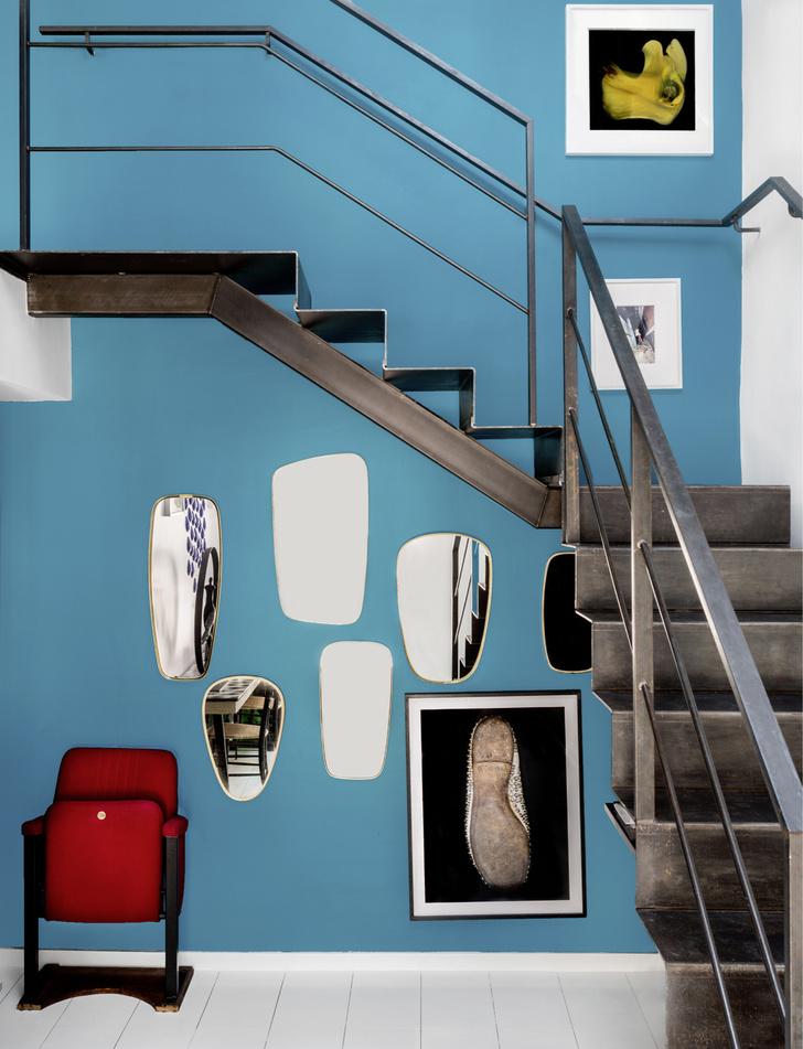 Как оборудовать лестницу: 20 идей (галерея 0, фото 17)