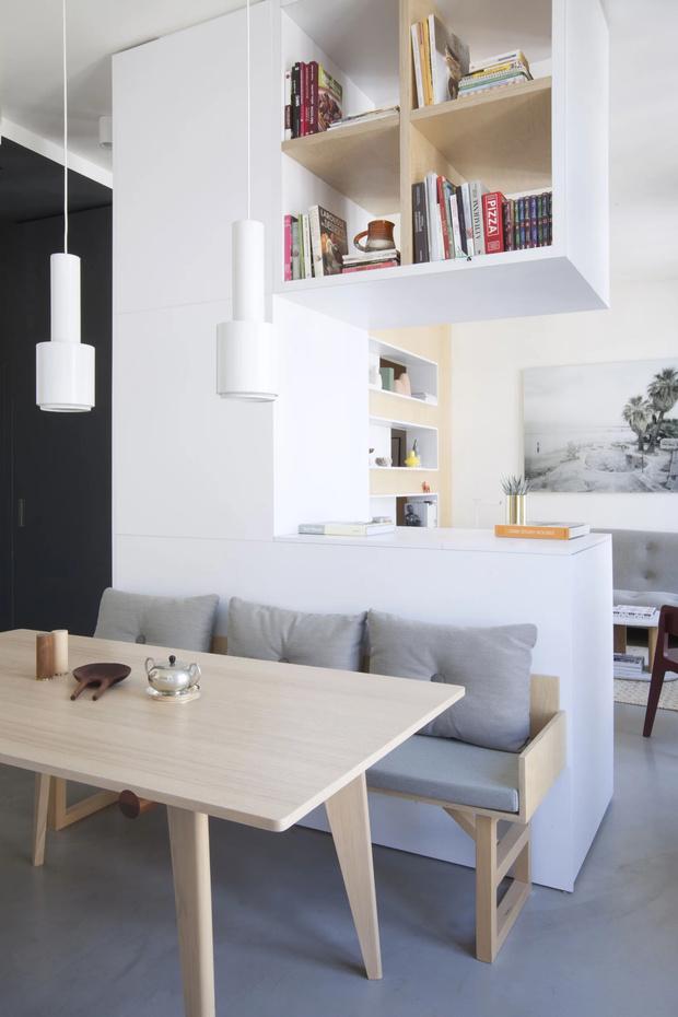 Минималистская квартира 47  м²  в Париже (фото 5)