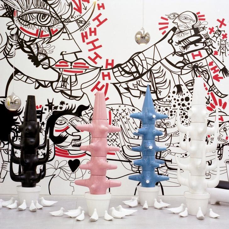 Чьи художества? Рисунки и арт-объекты Хайме Айона (фото 2)