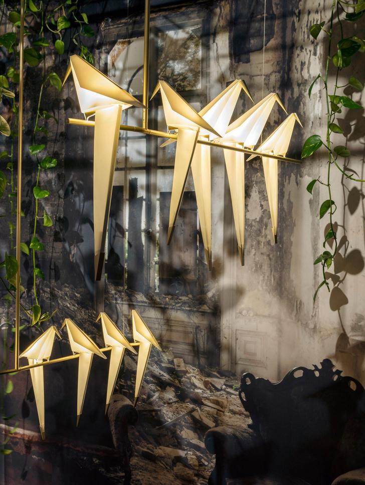 Топ-10: мотивы оригами в предметном дизайне фото [2]