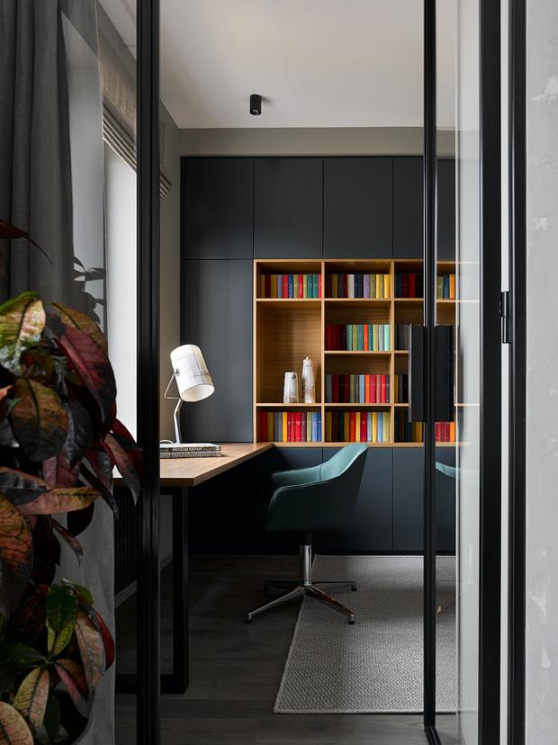 Брутальная квартира 78 м² с элементами минимализма (фото 15)